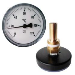 Bimetall Zeiger Thermometer...
